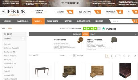 Furniture from professionals